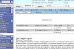 PrognoCIS screenshot: PrognoCIS EHR progress notes