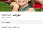 extendedReach screenshot: Child profiles can be accessed on any device including through the mobile apps