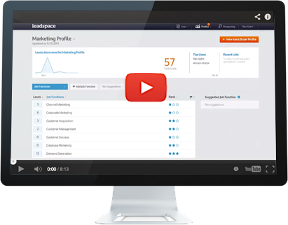 Leadspace Software - leadspace.com - CRM -  Video