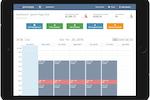 Club Management System screenshot: Club Management System dashboard
