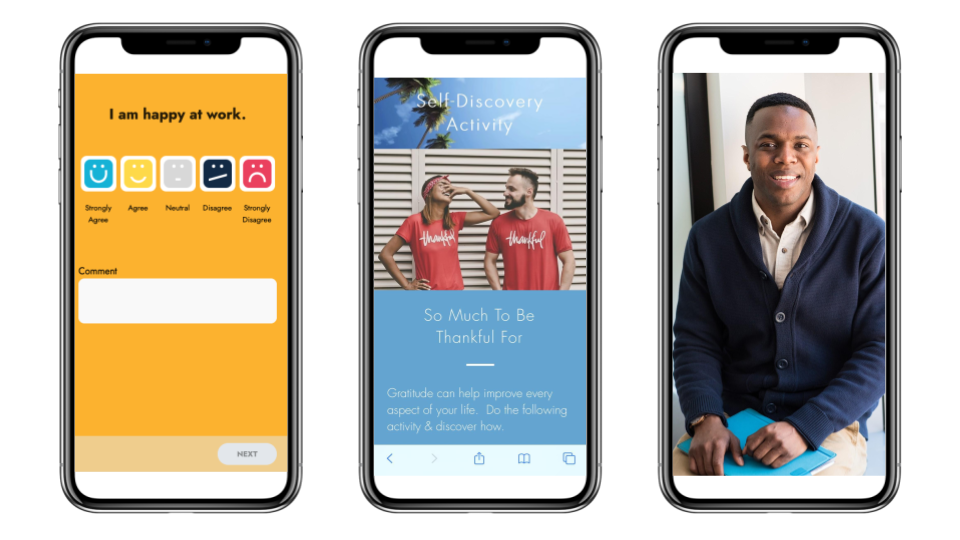 DaysToHappy employee experience platform