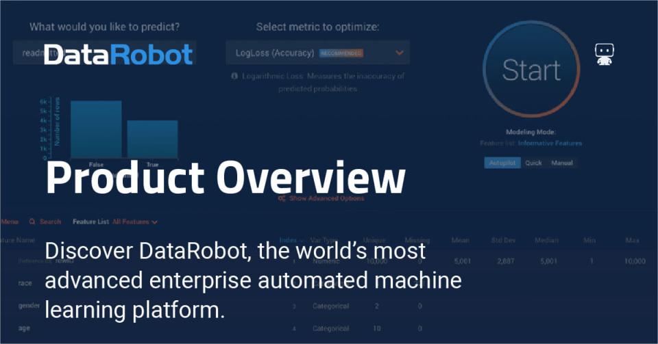 DataRobot Logiciel - 1