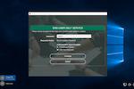 PortalGuard screenshot: PortalGuard Desktop Browser Shell on Windows 10