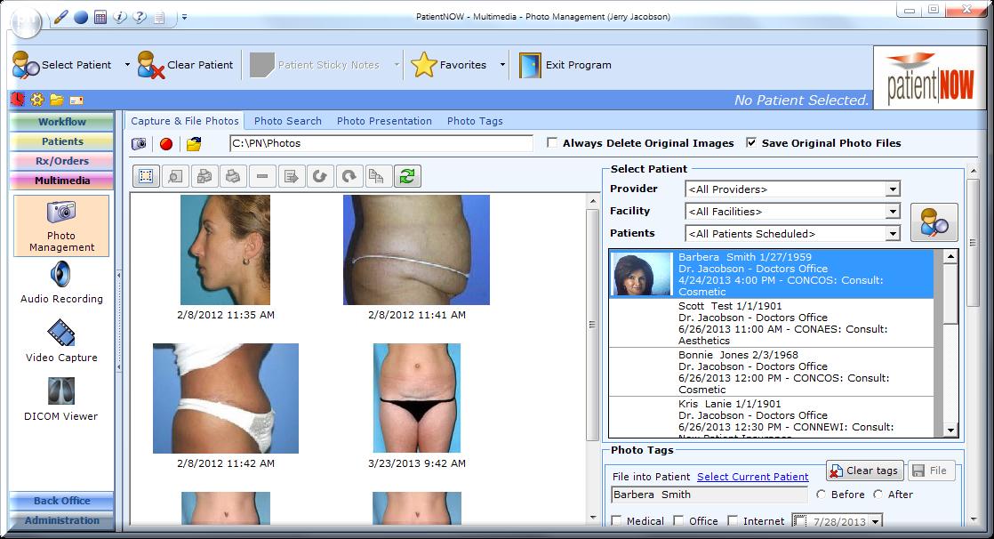 PatientNOW Software - 2