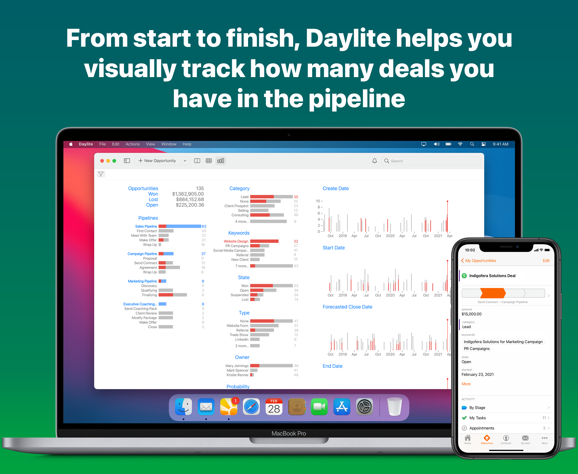 Daylite for Mac Software - 3