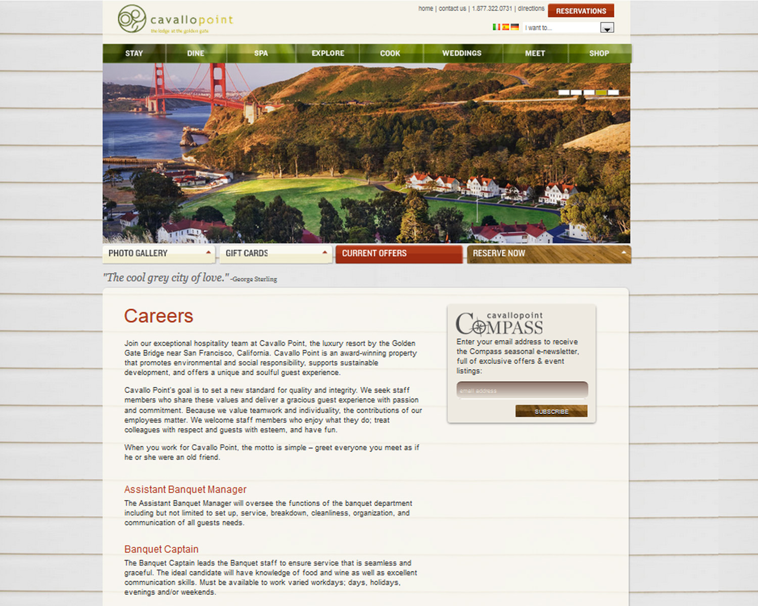 The Applicant Manager screenshot: Branded Careers Page  (Option 1- Hosted on your website)