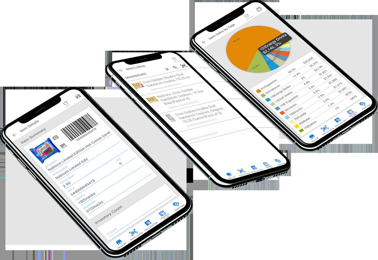 CStoreOffice mobile view