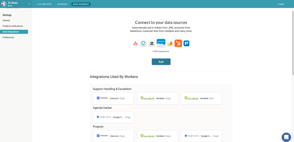 Streamline your workflow with access to 1000+ integrations