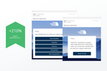GetFeedback screenshot: Supercharge survey engagement by 240% with one-touch email surveys