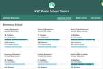 Kiddom screenshot: View district-wide reports