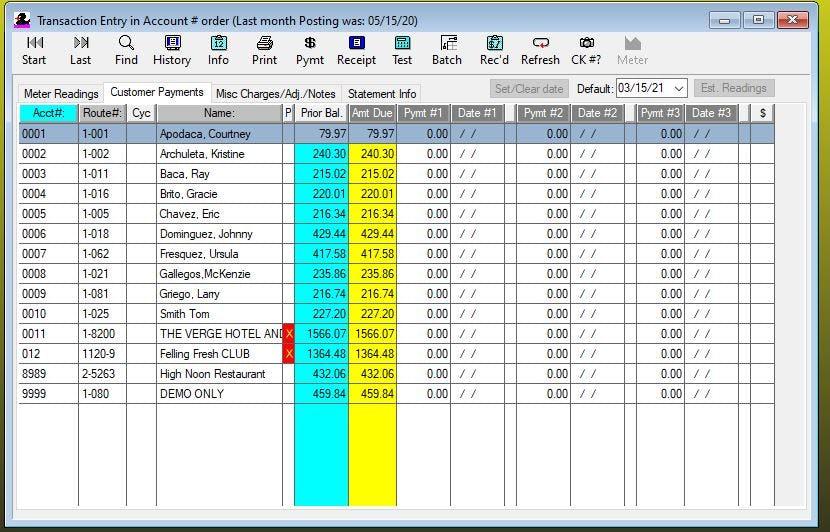 QuikWater Software - Payment screen %>
