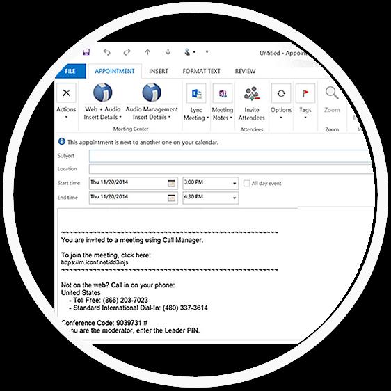 Conference Call - Google Calendar integration