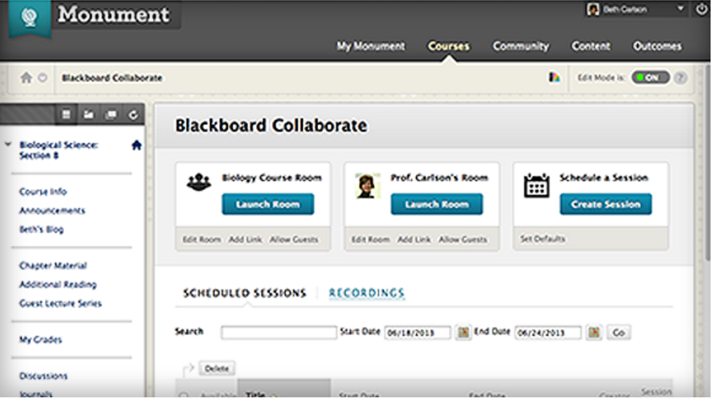 Blackboard Collaborate Software - Home