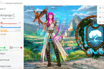 Classcraft screenshot: Classcraft character dashboard