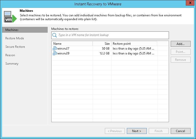 Veeam Backup & Replication Software - 1