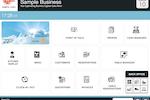 tillpoint screenshot: Homepage (Customisable)