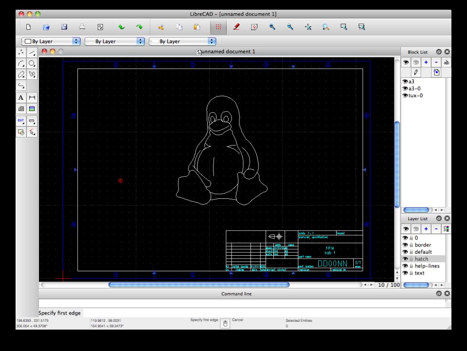 LibreCAD Software - 1