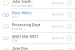RingCentral Office screenshot: Users can set up message alerts and missed-call notifications