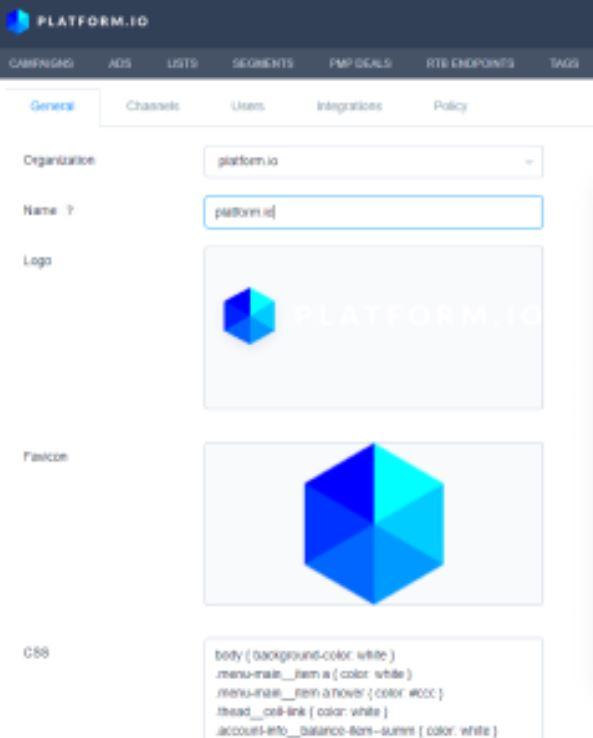 Platform.io white-labeling capabilities