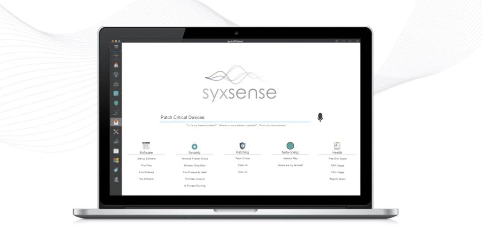 Syxsense Software - 2