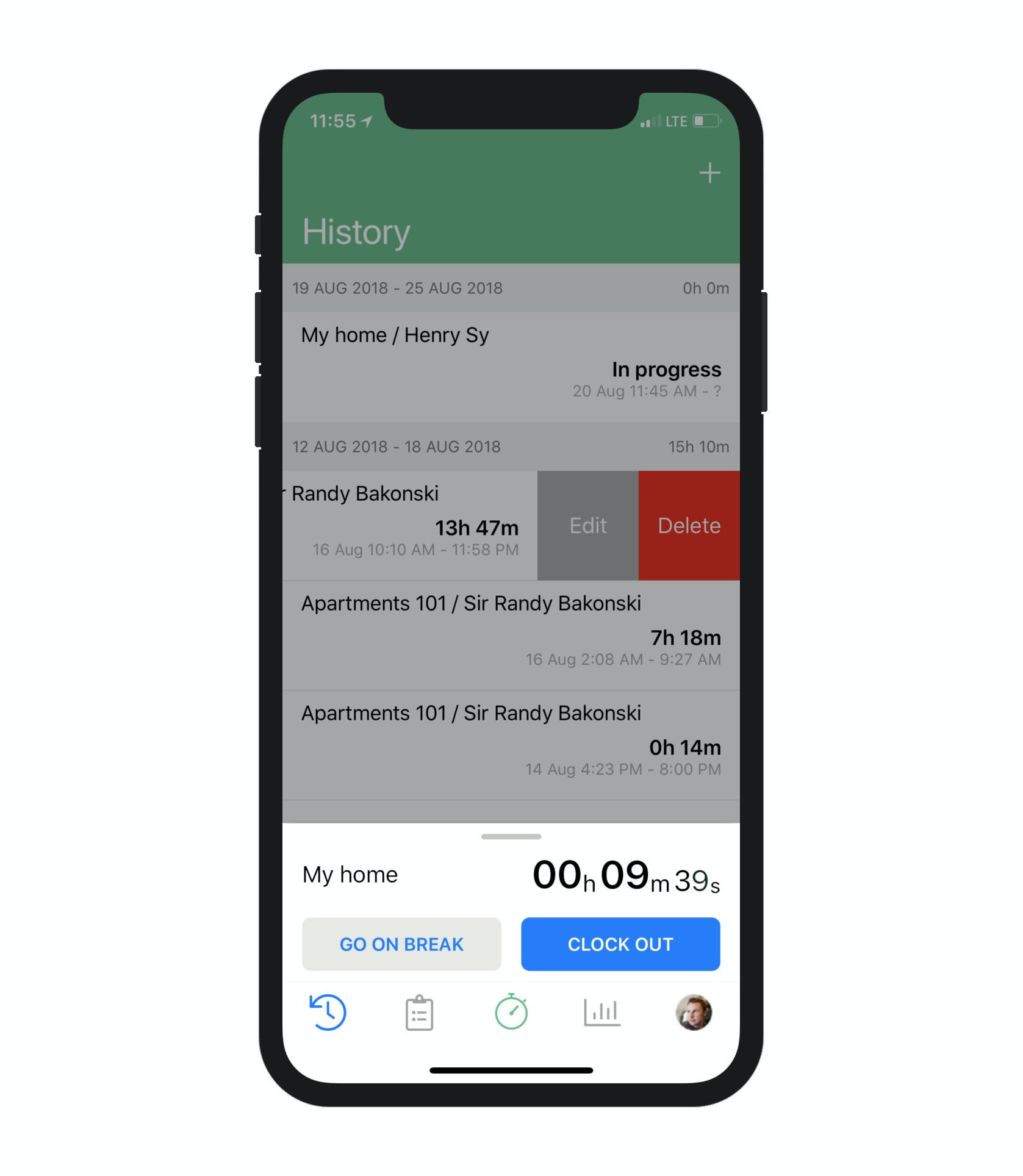 Timesheets & Employee Scheduling app by Veryfi. App includes floor detection, geofencing & employee beacons.