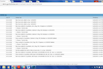 CLOCKWISE screenshot: Timesheets have audit trails attached logging user IP's, activities performed and timestamps