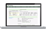 Netchex screenshot: Netchex monitors excessive absences, overtime, unscheduled work, and uses archived data to forecast labor costs