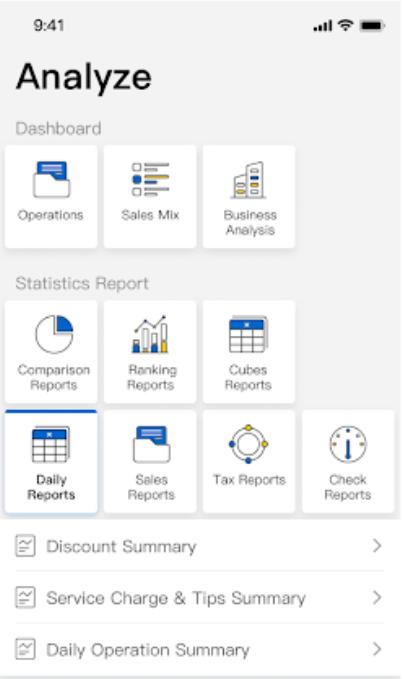 Shiji Distribution Solutions dashboard