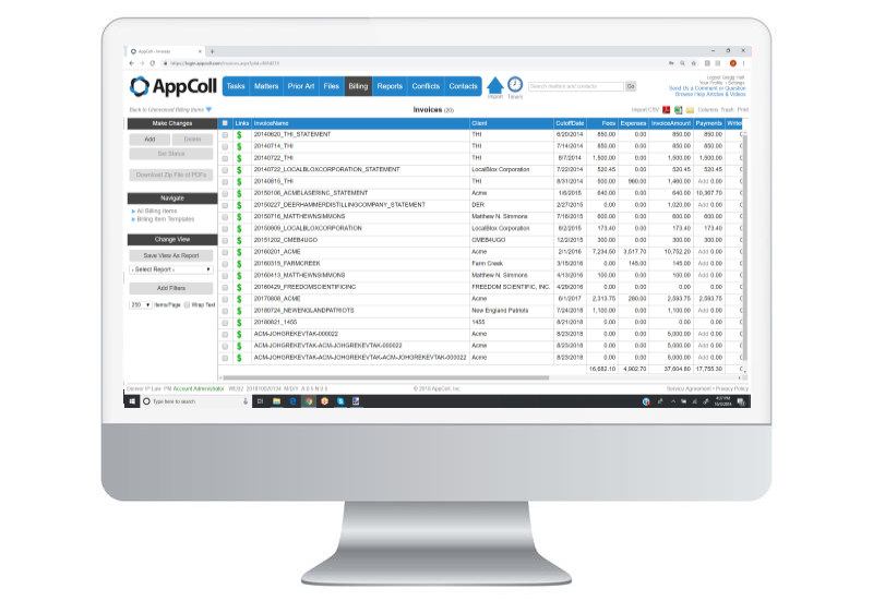 AppColl Prosecution Manager Software - 3