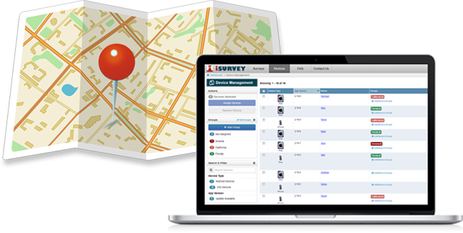 Tag surveys with the GPS coordinates using Harvest Your Data
