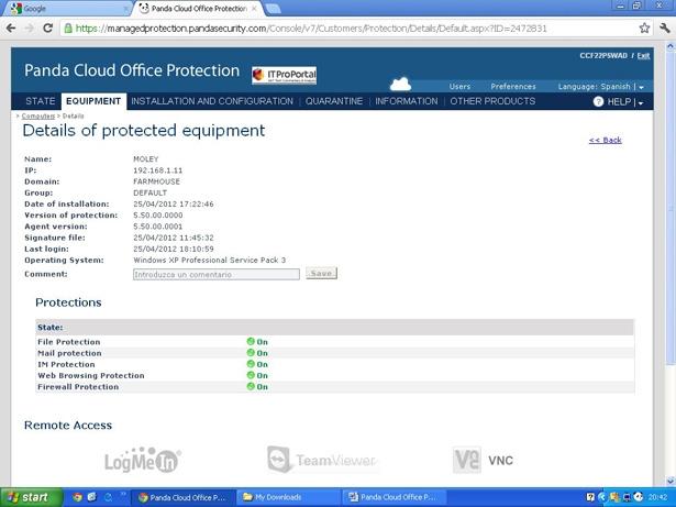 Panda Cloud Office Protection Logiciel - 2