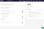 Captura de tela do Leapsome: 1:1s & Team Meetings