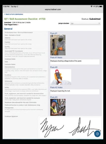 EHS Management Software mobile forms