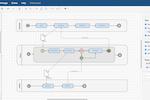 draw.io screenshot: Create flowcharts, process diagrams, organization charts, UML diagrams, ER diagrams, network diagrams, and more