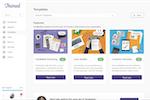 Captura de pantalla de Trainual: Trainual Template Marketplace where you can select process and SOP templates or examplars for content quick-starts