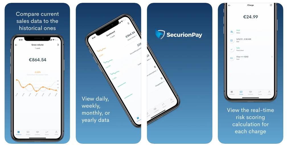 SecurionPay mobile app