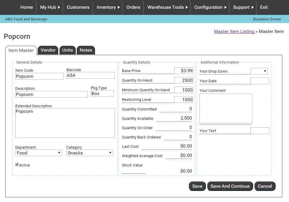 Pomodo Cloud Inventory Management
