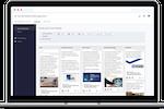 Tandem Software screenshot: Tandem by CoNetrix social media management
