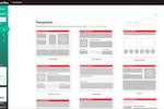 LiveTiles screenshot: LiveTiles predefined templates screenshot