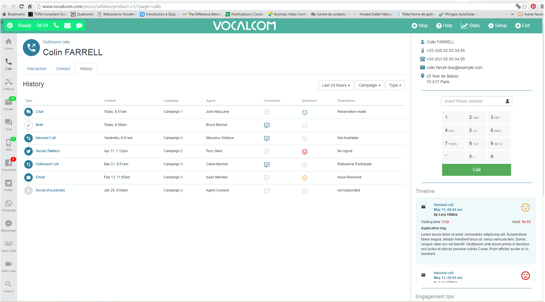 Vocalcom Software - Brilliant Customer Interactions. Every Time. Empower Agents to Create a Better Customer Experience.