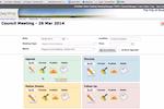 iCompass screenshot: iCompass dashboard screenshot