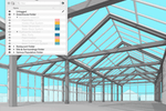 SketchUp screenshot: SketchUp's organization tools help keep your complex projects clean. With Tags, you can access components of your model quickly and control visibility in bulk.