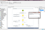 TrustQuay 5Series screenshot: TrustQuay 5Series workflow creation