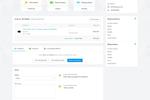Zoho Commerce screenshot: Zoho Commerce order details