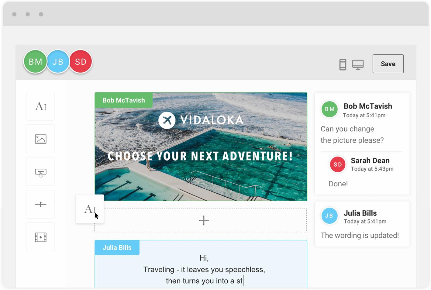 Mailjet screenshot: Build Together. Send Smarter.