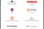 MoneyMinder Screenshot: Link to 12,000+ banks to automatically download transactions