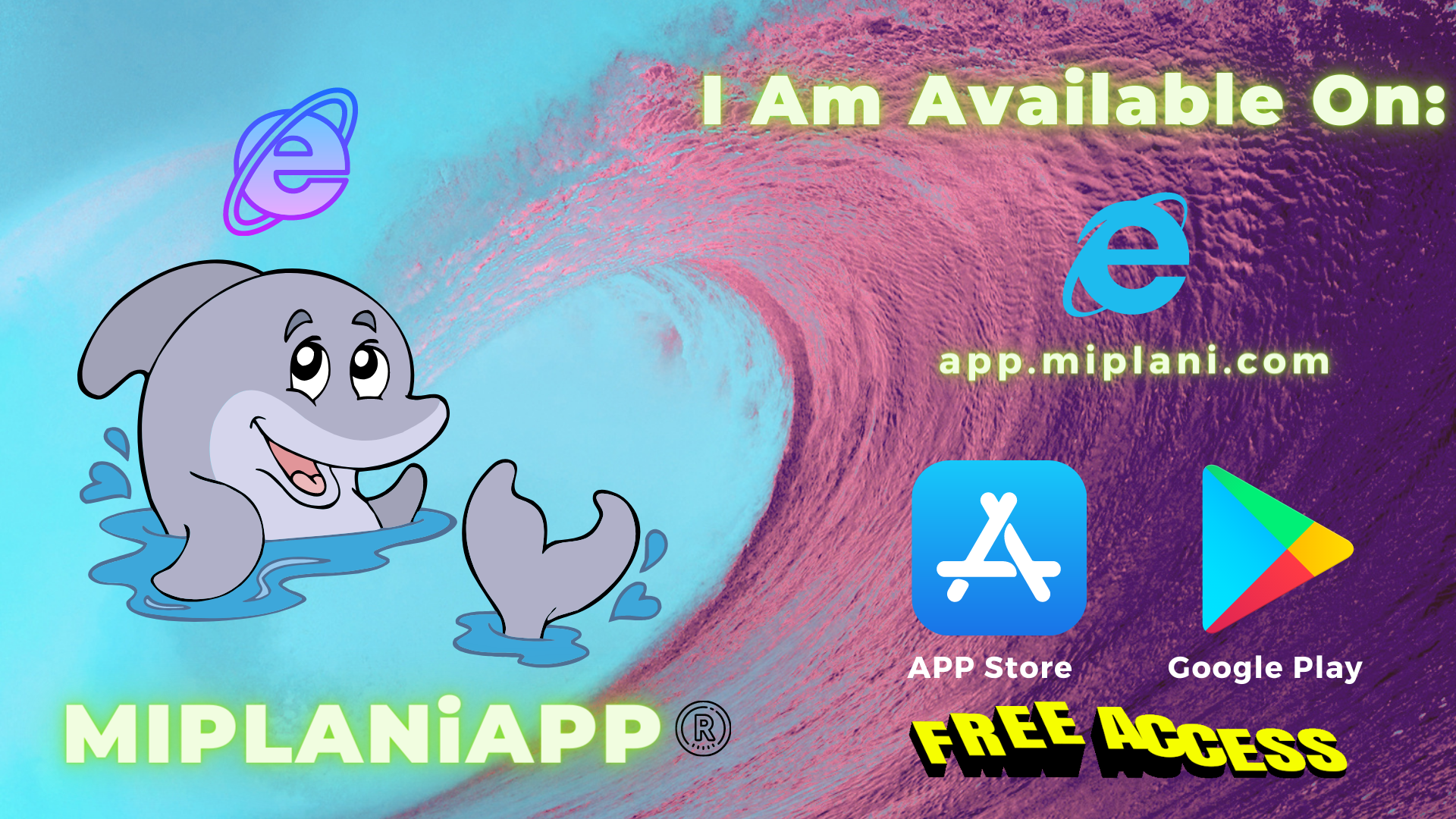 Forget words; Get access to MIPLANiAPP® now to see how easy it is to use and to create an exciting business that delivers unparalleled results.