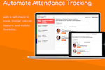 ClubWorx screenshot: Automate attendance tracking with a self check in kiosk, trainer roll call feature, and mobile flexibility.