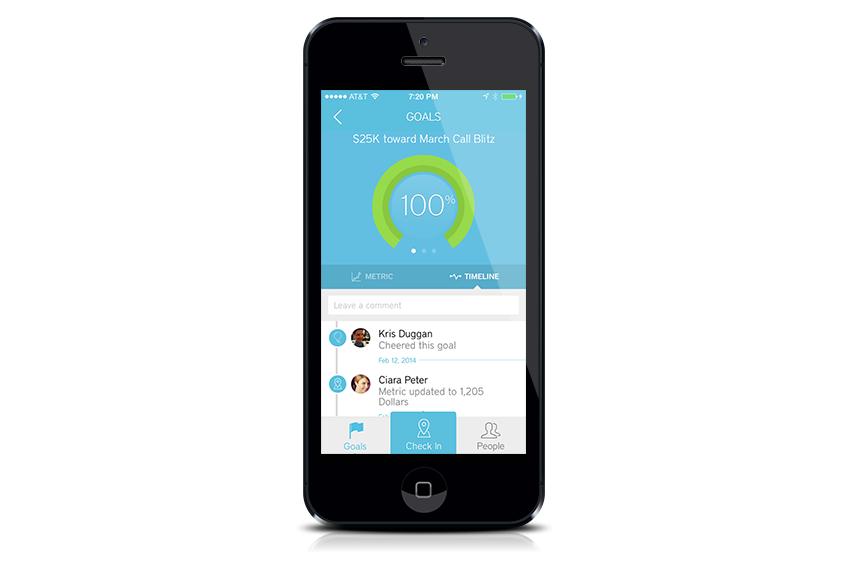 Betterworks Software - BetterWorks iOS app on iPhone