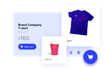 BrandMaster screenshot: Marketing Shop - Life would be a lot simpler if supply, distribution and quality control could be managed from a single, central outlet. We're pleased to say it can and, what's more, everything for sale is exclusively on-brand.